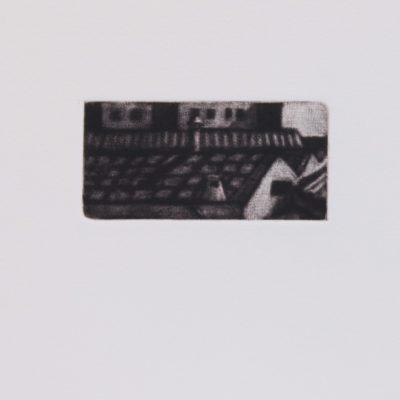 A la via 3. Manera negra 3. 18 x 18 CMS. 2000