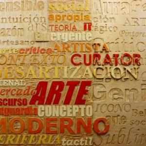 Arte 1. Madera tallada. 2012.