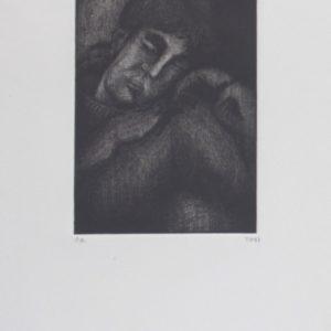 Aguatinta, aguafuerte. 1997.